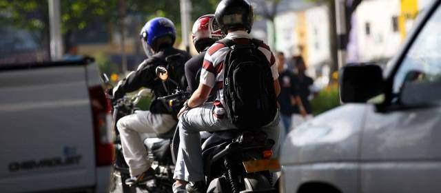 Mañana entra en vigor la restricción del parrillero hombre en un sector de Bogotá y se mantendrá durante los próximos tres meses.