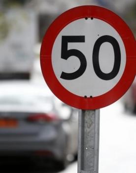 En noviembre se reduce la velocidad en vías importantes de la capital