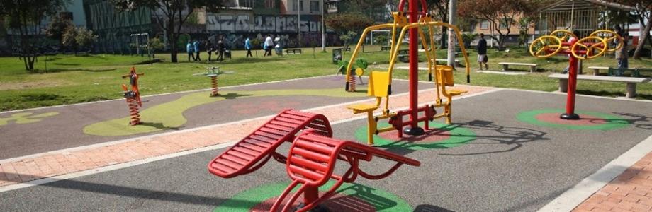 Hasta en parqueaderos se han convertido parques de bolsillo en Bogotá