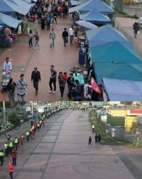 La mafia que maneja el espacio público capitalino